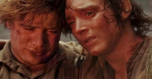 Frodo and Sam in Mordor